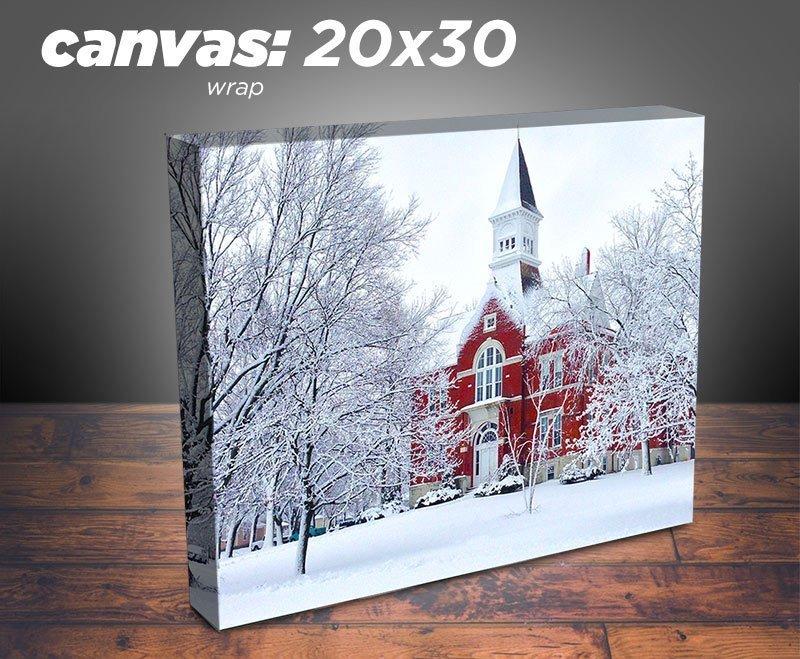 canvas 20x30 redlogic