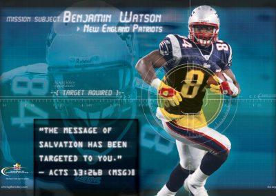 Benjamin Watson – New England Patriots