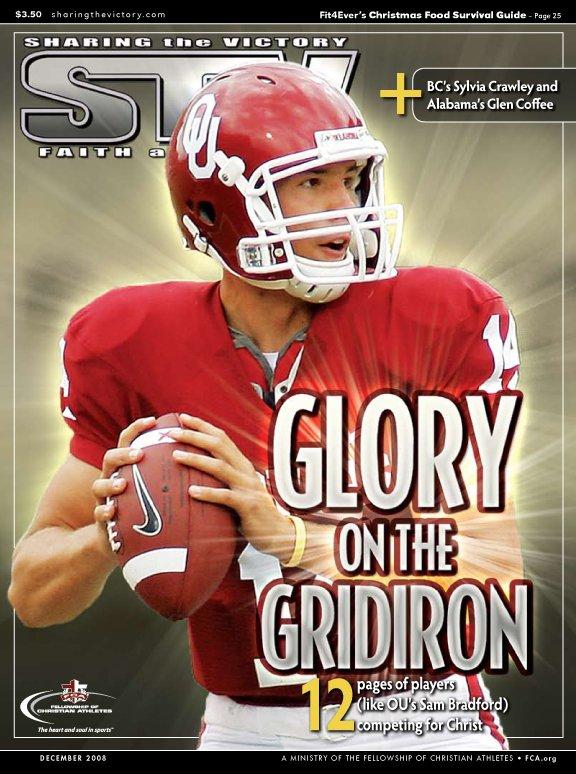 Glory on the Gridiron-Sam Bradford