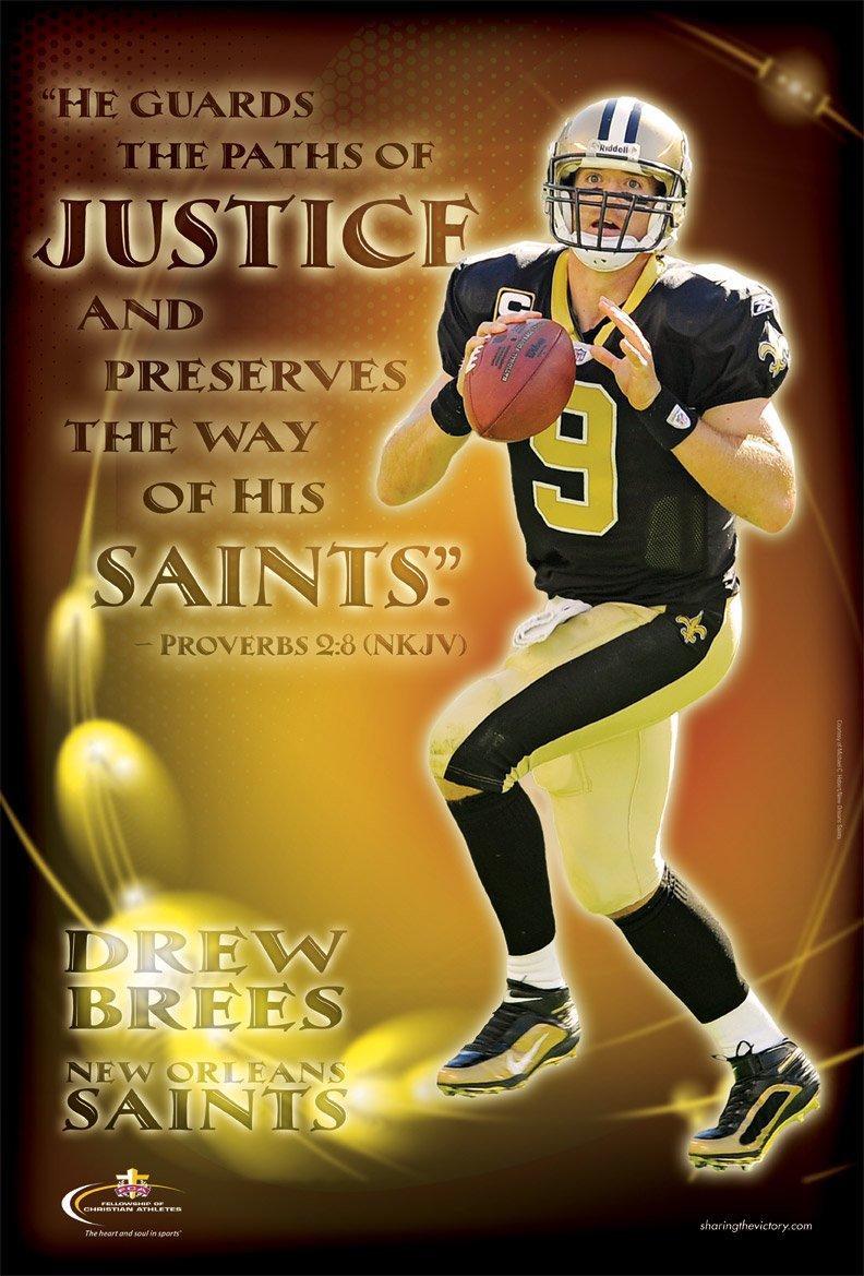Drew Brees – New Orleans Saints