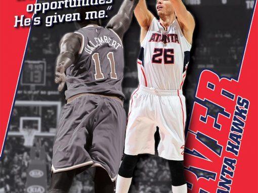 Kyle Korver – Atlanta Hawks