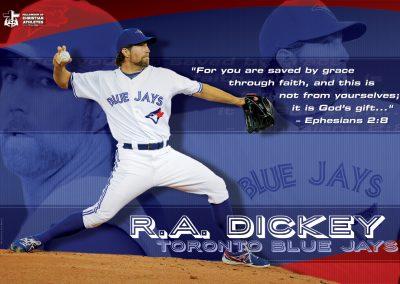 R.A. Dickey – Toronto Blue Jays