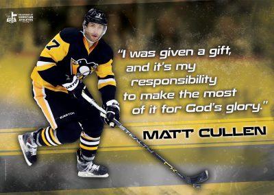 Matt Cullen – Minnesota Wild