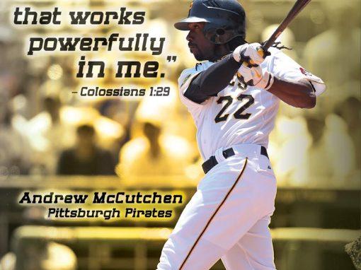 Andrew McCutchen – Pittsburg Pirates