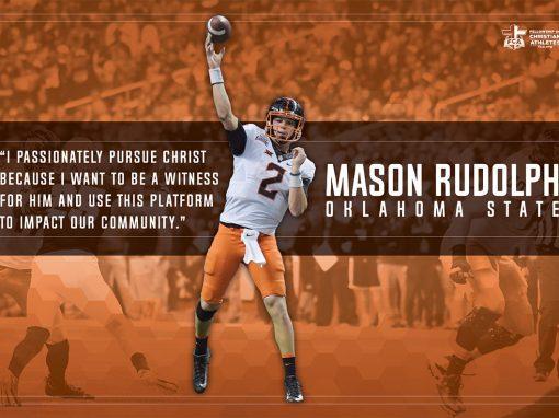Mason Rudolph – Oklahoma State