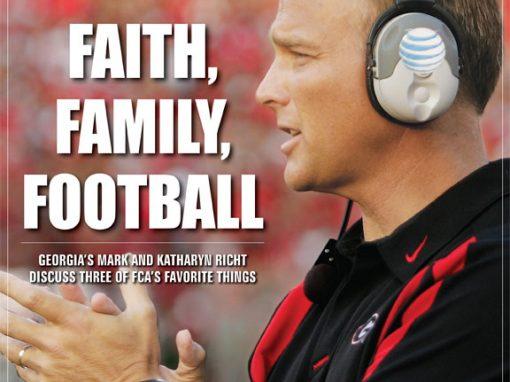 Mark Richt-Faith, Family, Football