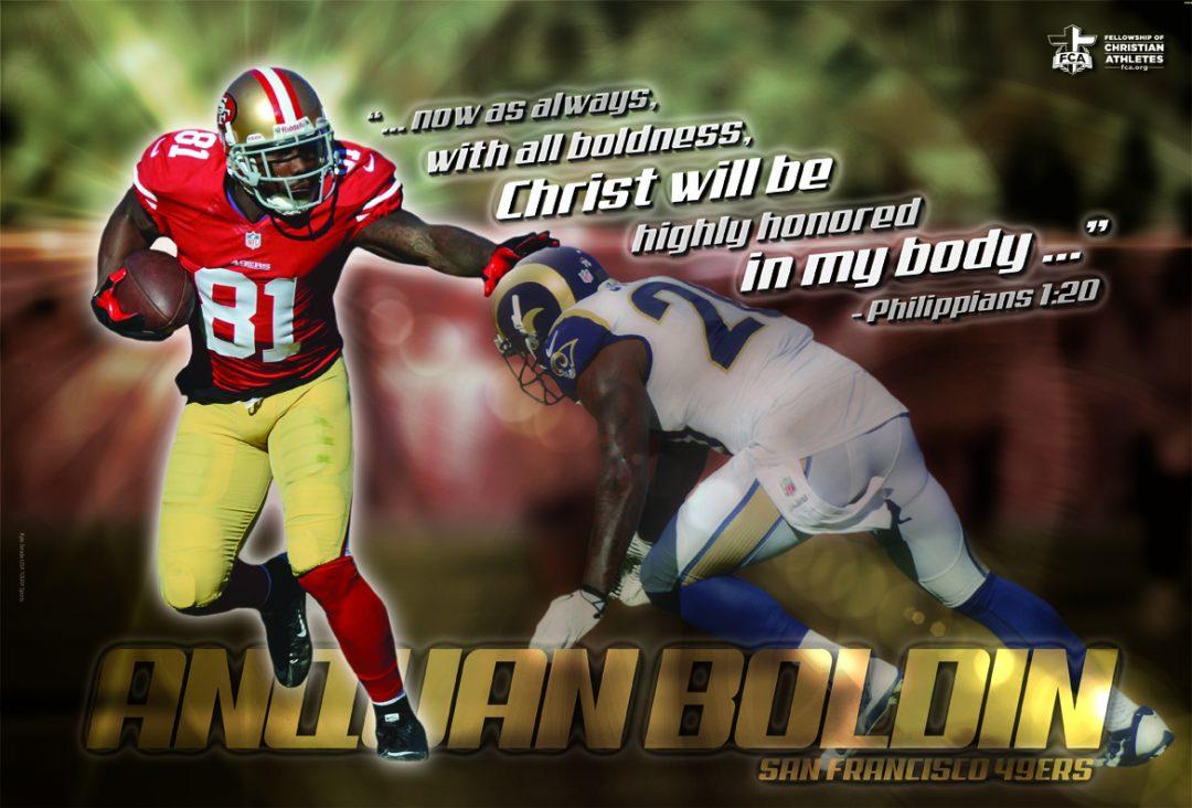 Anquan Boldin – San Francisco 49ers