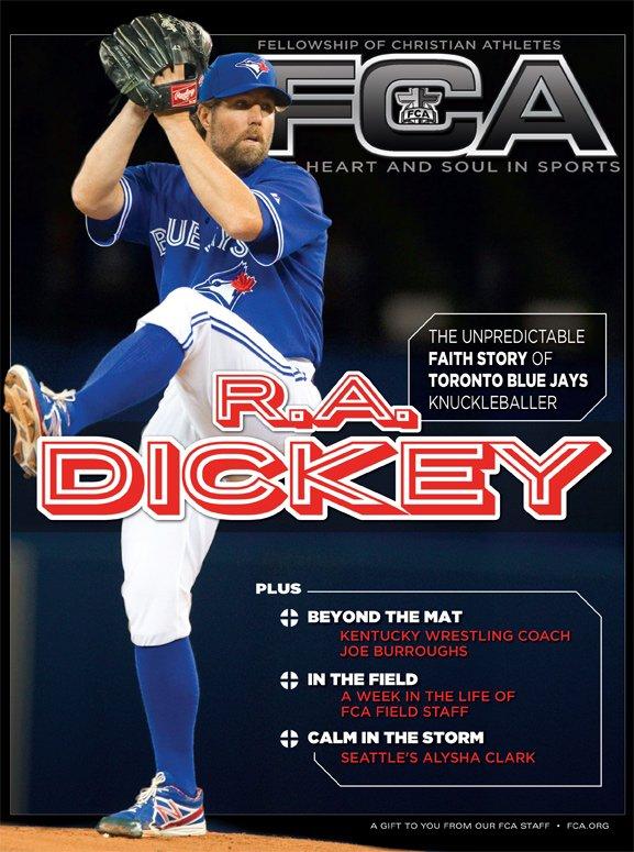 R.A. Dickey-Toronto Blue Jays