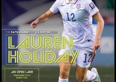 Lauren Holiday-US Soccer Star
