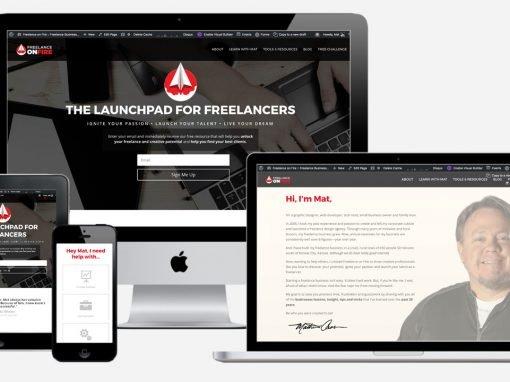 Freelance On Fire website