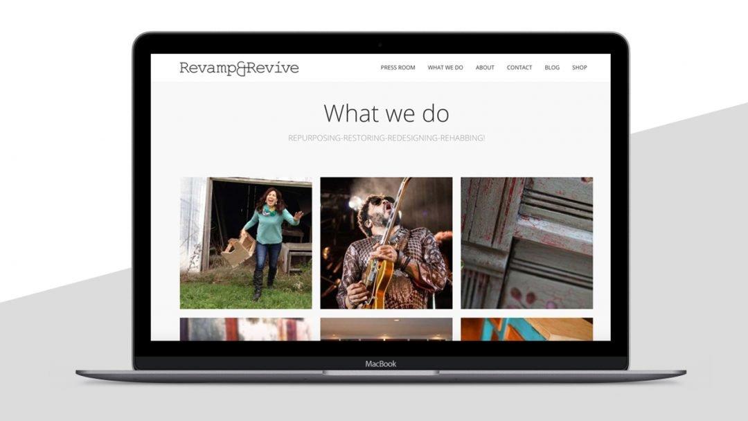 RevampRevive website